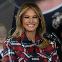 Melania Trump u vojnoj bazi u Washingtonu - 5