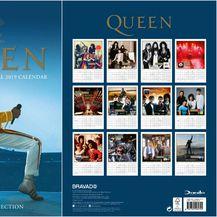 Queen kalendar za 2019. godinu, 8,88 funti (72 kune)