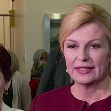 Predsjednica Kolinda Grabar-Kitarović o Vladi Galiću i avionima (Video: Dnevnik.hr)