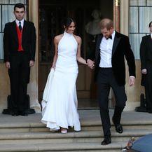 Harry i Megan prilikom odlaska na svadbeno slavlje u rezidenciju Frogmore House - 2