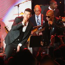 Pharrell Williams i Robin Thicke (Foto: Getty Images)