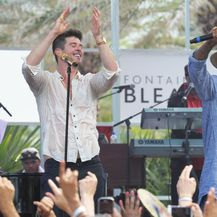 Pharrell Williams i Robin Thicke (Foto: Profimedia)