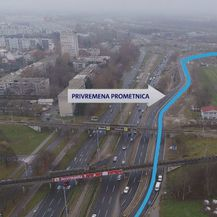 Alternativni pravci nakon zatvaranja rotora na Lučkom (Foto: Dnevnik.hr) - 1