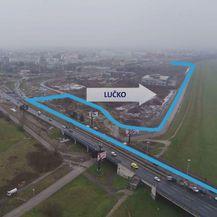 Alternativni pravci nakon zatvaranja rotora na Lučkom (Foto: Dnevnik.hr) - 2