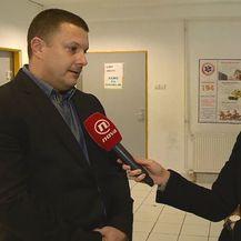 Luka Lulić, ravnatelj Zavoda za hitnu medicinu Dubrovačko-neretvanske županije, i Paula Klaić Saulačić (Foto: Dnevnik.hr)