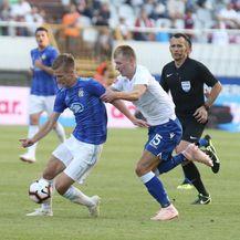 Dani Olmo i Ante Palaversa u zadnjem derbiju (Foto: Ivo Cagalj/PIXSELL)