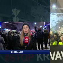 Barbara Štrbac o prosvjednima u Beogradu (Video: Dnevnik Nove TV)