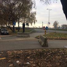 Blokirane ceste prema rotoru (Foto: Dnevnik.hr)
