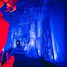 Tunel Grič za Advent je uređen kao imaginarni dvorac iz zaleđene bajke