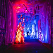 Tunel Grič za Advent je uređen kao imaginarni dvorac iz zaleđene bajke - 12