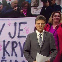 U Zadru održan prosvjed zbog puštanja na slobodu Darka Kovačevića-Daruvarca (Video: Vijesti u 17h)
