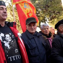 Otkrivanje spomenika Josipu Brozu Titu u Podgorici (Foto: AFP) - 3