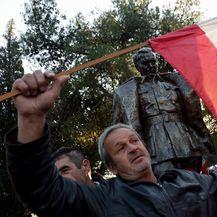 Otkrivanje spomenika Josipu Brozu Titu u Podgorici (Foto: AFP) - 4
