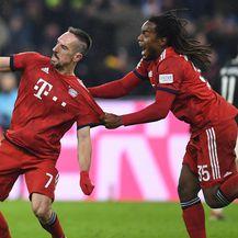 Ribery slavi gol (Foto: AFP)