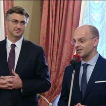 Mislav Bago i Andrej Plenković (Foto: Dnevnik.hr)