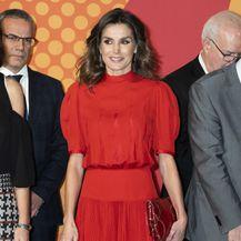 Kraljica Letizia u crvenoj haljini koja je pripadala njezinoj svekrvi, kraljici Sofiji
