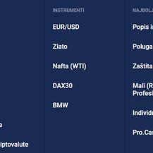 Instrumenti za trgovanje (Foto: Admiral Markets)