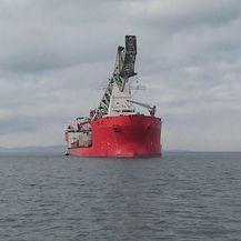 Kineski brod stigao u luku Ploče (Foto: Dnevnik.hr)