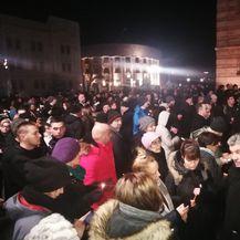 Prosvjed u Banjoj Luci zbog uhićenja Davidovog oca i majke (Foto: Avaz.ba) 6