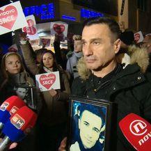 Govor oca Davora Dragičevića na prosvjedu za ubijenog mu sina Davida (Foto: Dnevnik.hr) - 3
