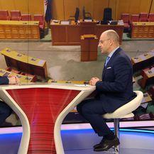 Vilibor Sinčić gostuje u Dnevniku Nove TV (Foto: Dnevnik.hr)