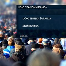 Demografski podaci Državnog zavoda za statistiku (Foto: Dnevnik.hr)