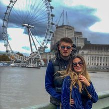 Duje Ćaleta Car, Adriana Đurđević (FOTO: Instagram)