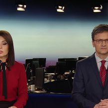 Dalibor Špadina razgovara s izvršnim direktorom Sektora istraživanja HNB-a Ljubnkom Jankovom o gotovinskim kreditima (Video: Dnevnik Nove TV)