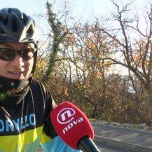 Biciklist Alen Pavličić (Foto: Dnevnik.hr)