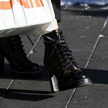 Jadranka Sloković u gležnjačama modne kuće Louis Vuitton