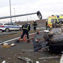 Prometna nesreća u Osijeku (Foto: JPVP Grada Osijeka) - 4