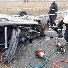 Prometna nesreća u Osijeku (Foto: JPVP Grada Osijeka) - 5