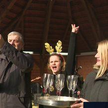 Nova godina slavi se i u hrvatskim ggradovima (Video: Vijesti u 14)