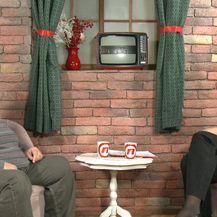 Predsjednički kandidat Anto Đapić i novinarka Lana Ružičić