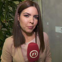Valentina Baus ispred režije Nove TV