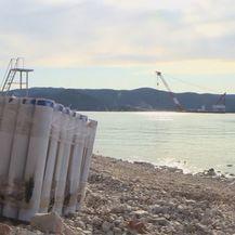 Gradilište Pelješkog mosta - 1