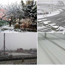 Snijeg zabijelio dijelove Hrvatske