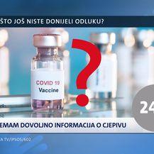 Istraživanje Nove TV o cjepivima protiv korone - 2