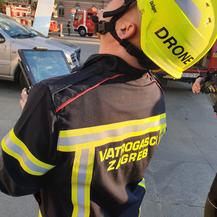Vatrogasci u akciji s dronom
