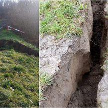U potresu oštećen savski nasip u Palanjku kod Siska