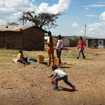 Stanovnici Malog doma u Africi