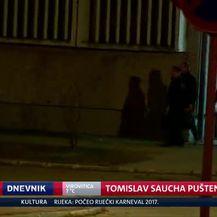 Tomislav Saucha pušten iz Remetinca (Video: Dnevnik Nove TV)