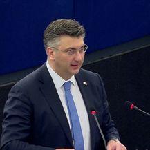 Govor premijera Plenkovića o budućnosti EU u Strasbourgu (VIdeo: Dnevnik.hr)
