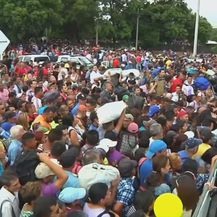 Na venezuansko-kolumbijskoj granici (Screenshot: Reuters)