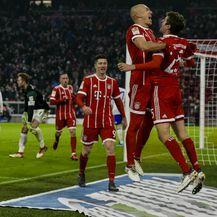 Arjen Robben, Thomas Muller, Robert Lewandowski i Franck Ribery (Foto: AFP)