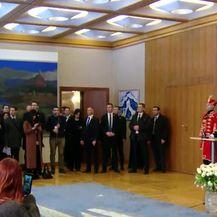 Vučićev odgovor na pitanje o dokumentaciji iz Vukovarske bolnice (Video: Denvnik.hr)