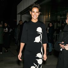 Katie Holmes na njujorškom tjednu mode