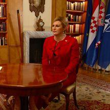 Kolinda Grabar Kitarović u Dnevniku Nove TV (Foto: Dnevnik Nove TV)