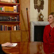 Predsjednica Republike Hrvatske u Dnevniku Nove TV (Video: Dnevnik Nove TV)