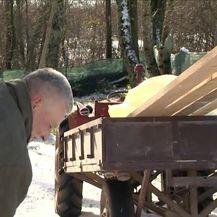 Snijeg u Istri (Video: Dnevnik Nove TV)